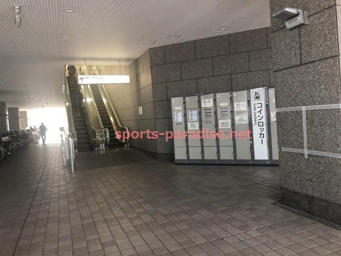 コロワ甲子園 1階コインロッカー